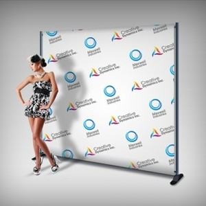 Backdrop Stand Dubai | Digital Large Format Printing UAE