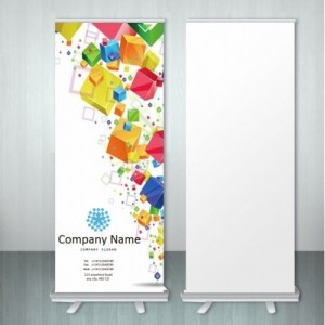 Roll Ups Printing in Dubai | Digital Printing Press 1